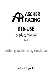 B16-USB Manual